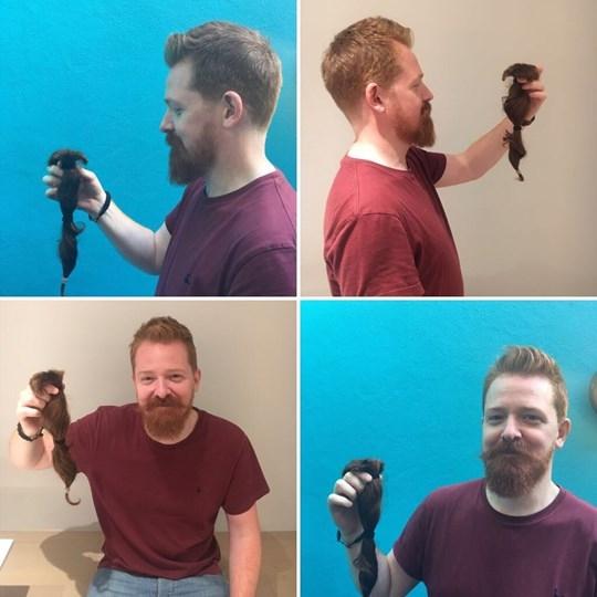 Jon's Big Hair Chop