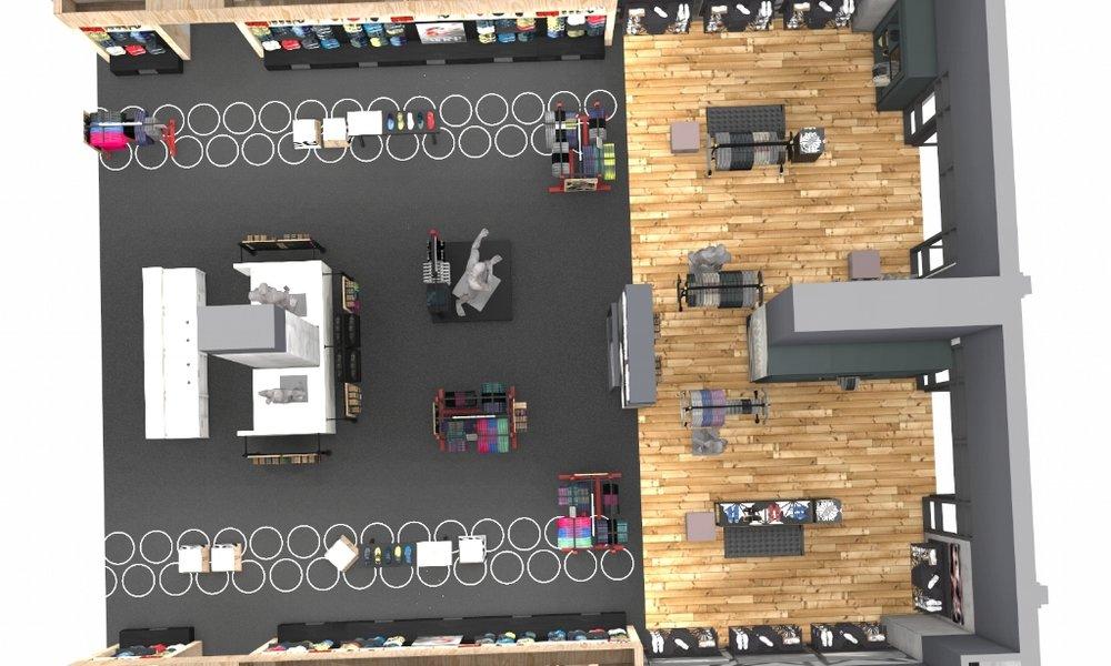Reebok Classic Store Dubai Mall