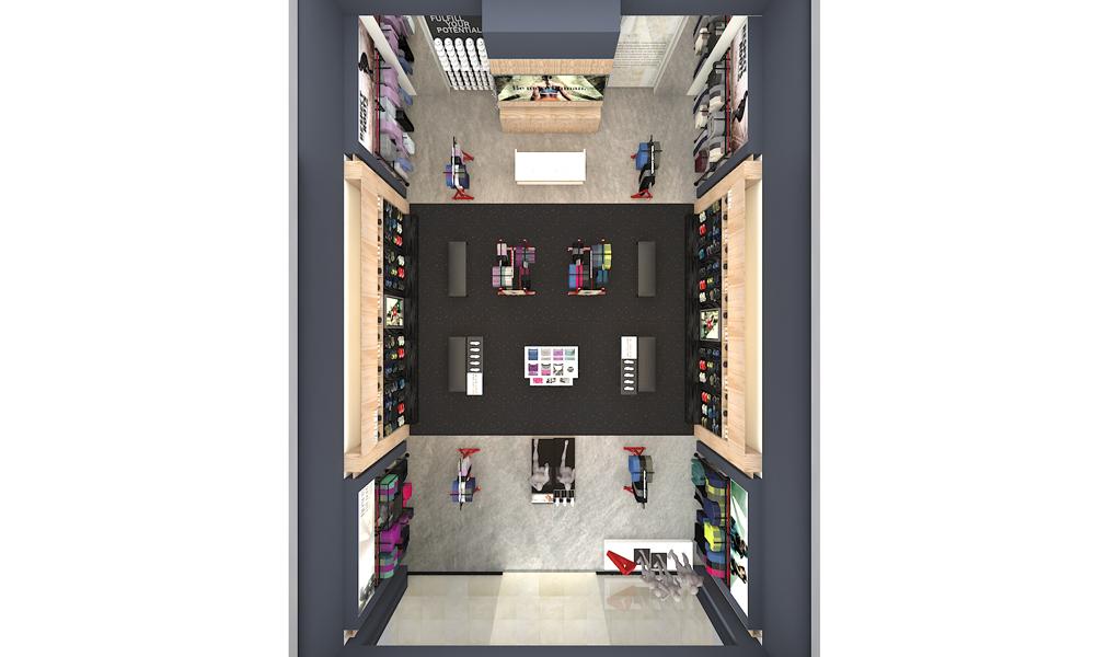 Reebok China Store Plan
