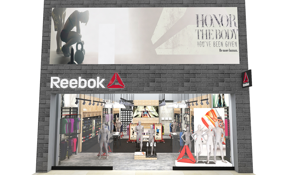 Reebok China Store Exterior Plan