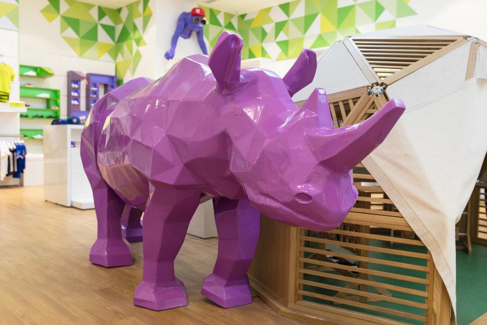 That Al Salasil Purple Rhino