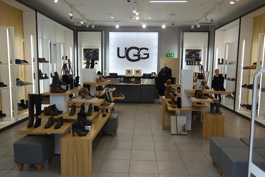UGG Pop Up Shop Interior