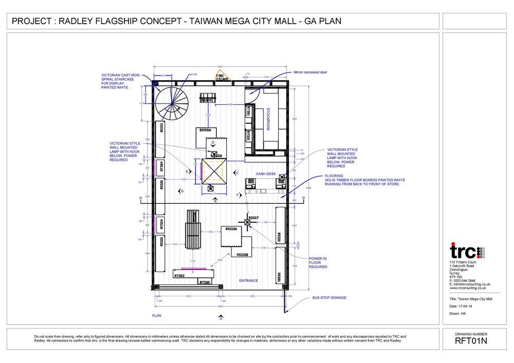Radley Flagship Concept Plan Taiwan