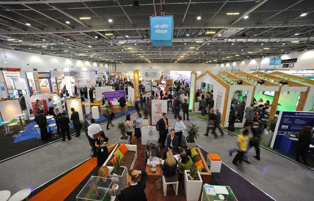 UK Green Building Council Exhibition Stand 2012