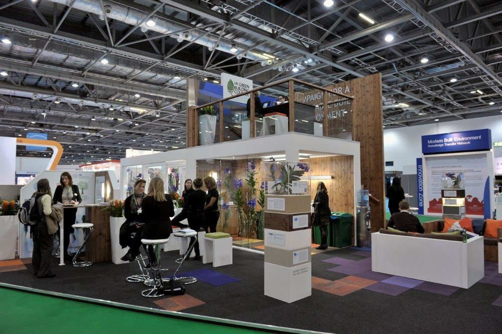 UK Green Building Council Exhibition Stand 2013