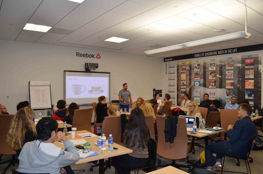 Reebok Global VM Workshop Presentation