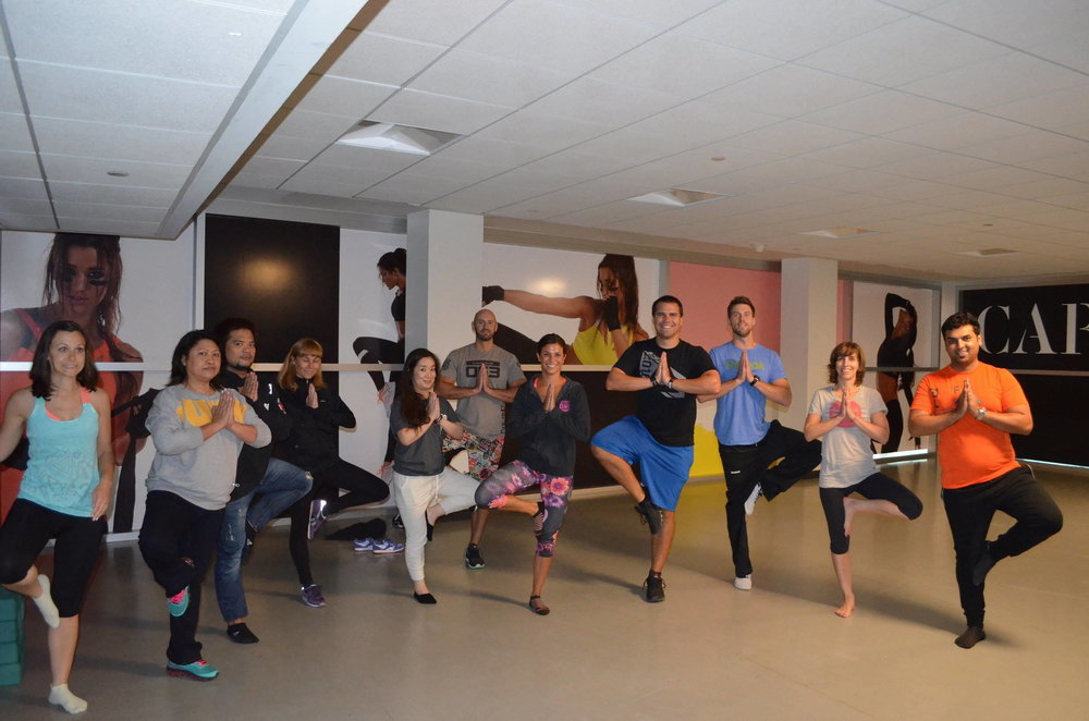 Reebok Global VM Workshop Yoga Class