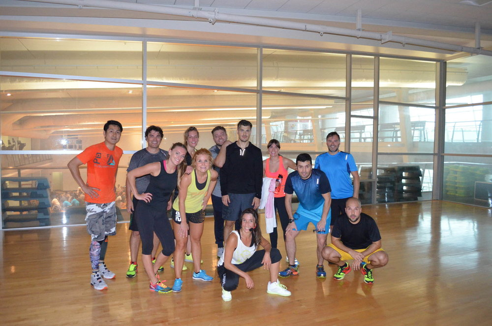 Reebok Global VM Workshops Exercise Class