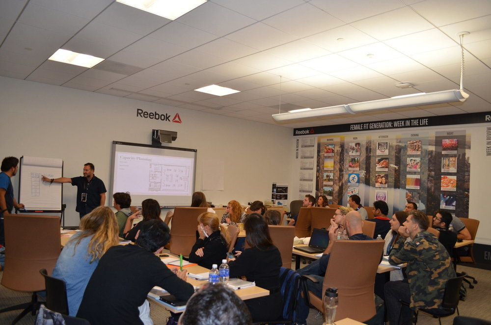 Reebok Global VM Workshop Classroom