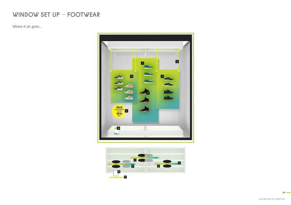 NEO Window Shoe Display Plan