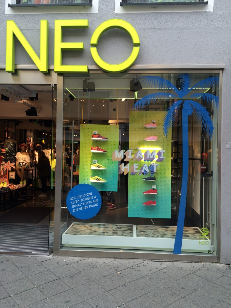 NEO Shop Window Store Front
