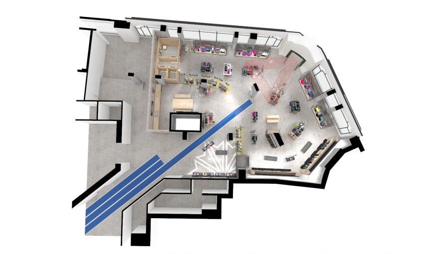 Reebok Concept Store Paris CAM