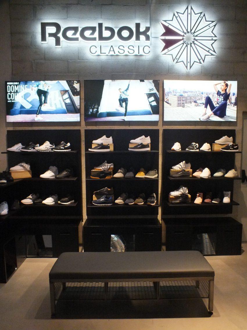 La. Salle. De. Sport. Reebok Store Paris