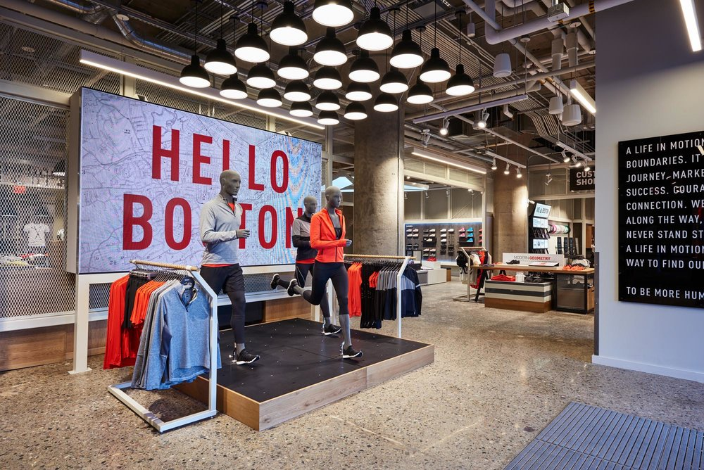 Reebok Dry Dock Store Boston USA - Hello Boston VM