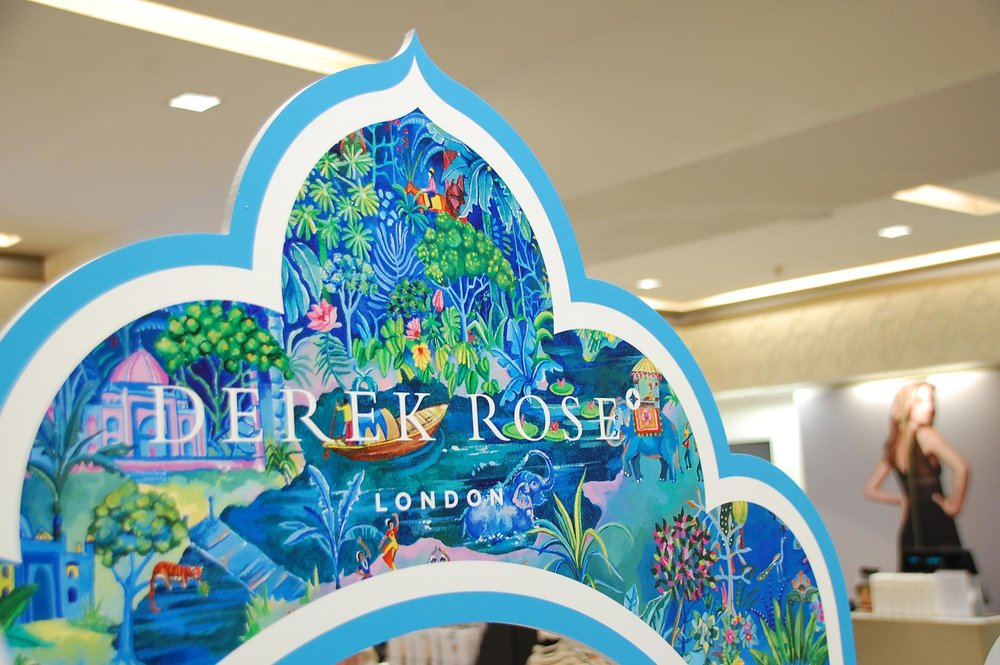 Derek Rose Women's Pop Up Harrods