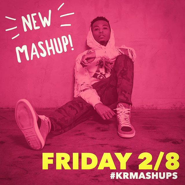 New #KRMashUps on Friday (12pm PST)🖤