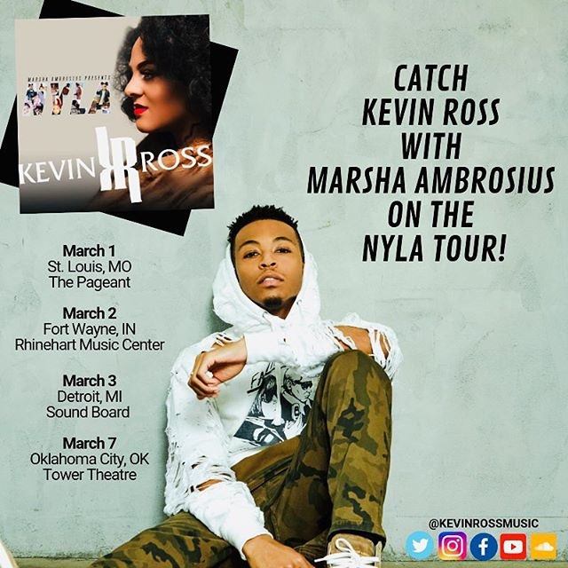 Catch me on these dates with @marshaambrosius #nylatour 🖤