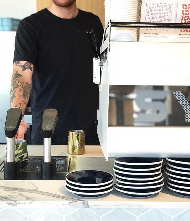 Our favourite part of every morning.. ☕️☕️☕️ . . . . #sydneycafe #brunch #breakfastinsydney #coffeelover #sydneyfood #coffeetime #eat #urbanlisted #sydneyeats #foodporn #foodstagram #feedme #foodie #sydneyfoodies #brunchtime #foodporn #timeoutsydney #eateateat #caffeine #sydneycoffee