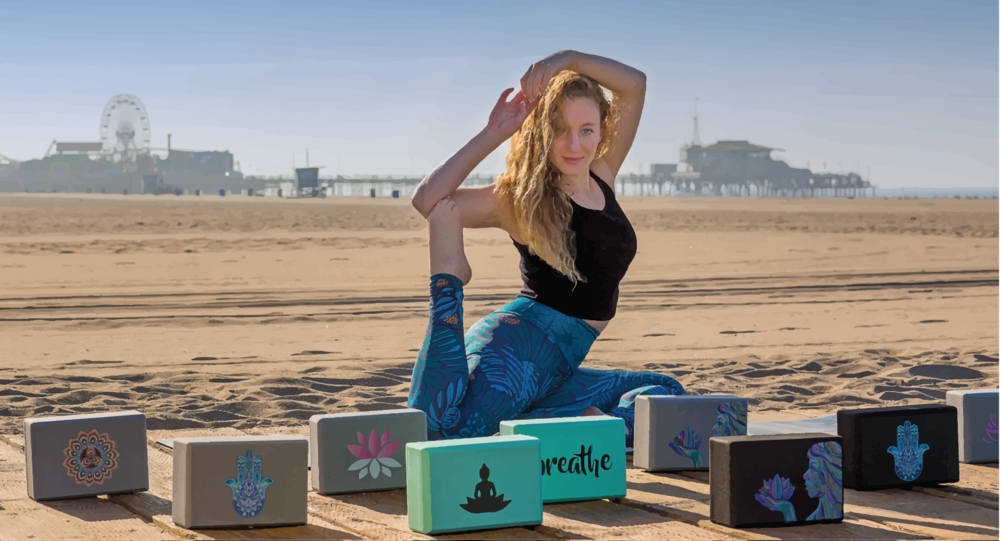 At Embrace The Block, we strive to help people incorporate  yoga blocks  into their practice. Utilizing a block helps ensure proper alignment and allows you to go deeper into your practice. We gravitate towards what is aesthetically pleasing to us, so we design and create blocks that appeal to the heart, mind, and soul of the yogi.