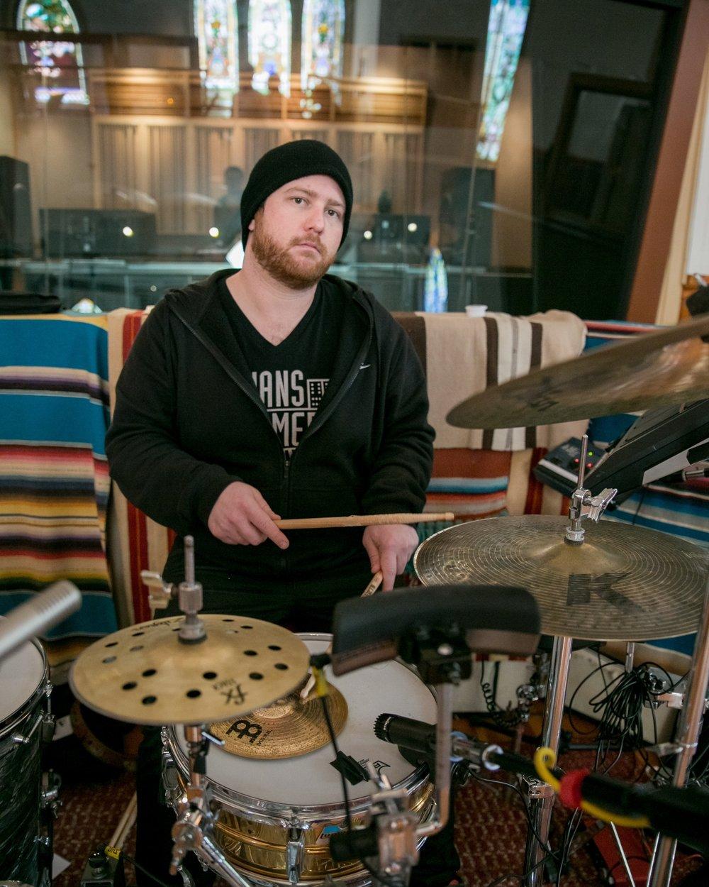 Jules Jenssen - DRUMS W/ MIDI TRIGGERS AND SPD PAD