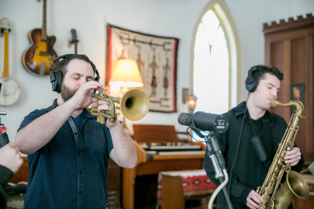 Ian Stewart &Tyler Gasek - TRUMPET AND SAXOPHONE