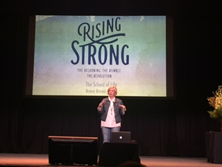 Brene Brown speaking at School Of Life Sydney