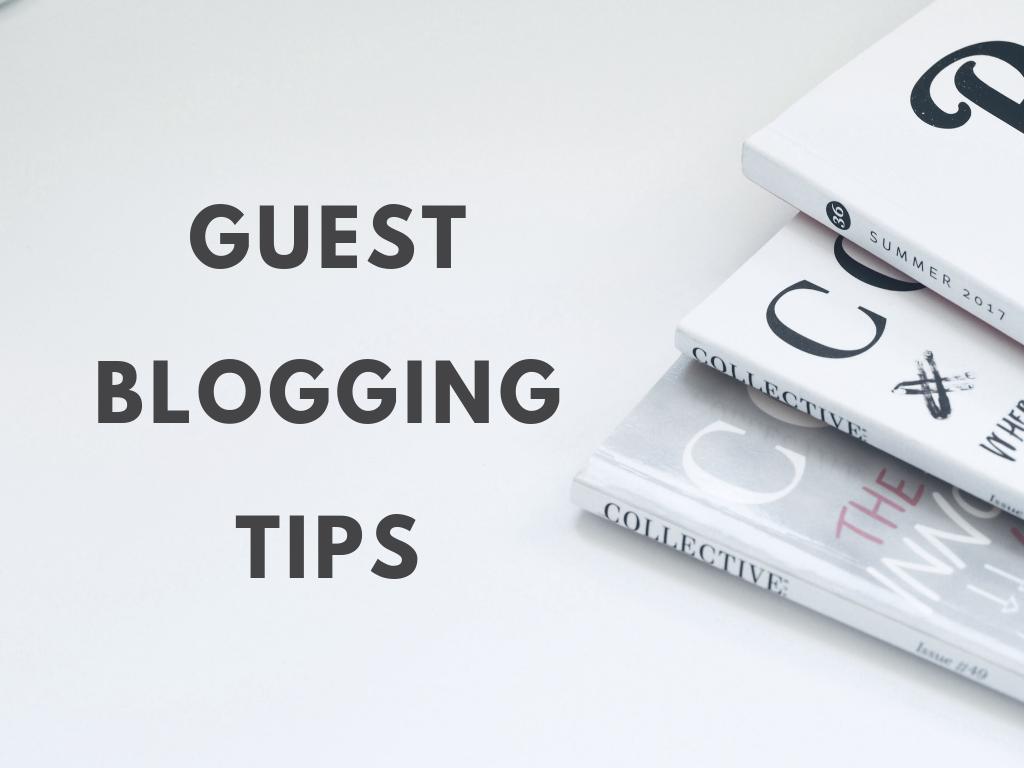 Guest blogging starter tips — Alterno Marketing