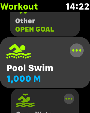 Pool Swimming with Apple Watch 3 and the Workout app — The