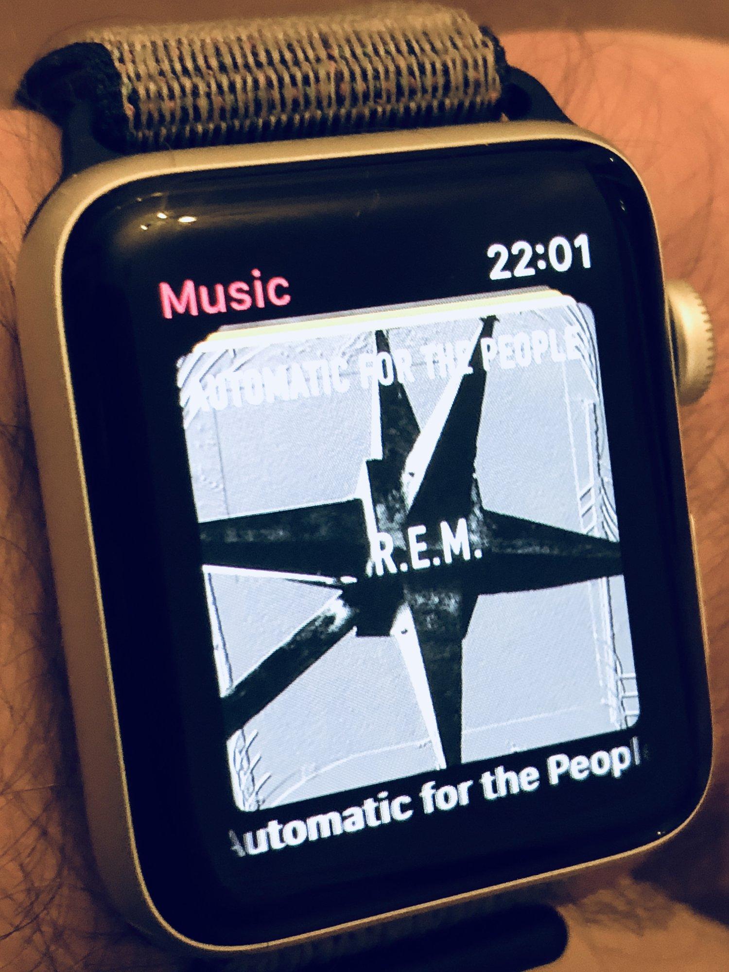 apple watch amazon music