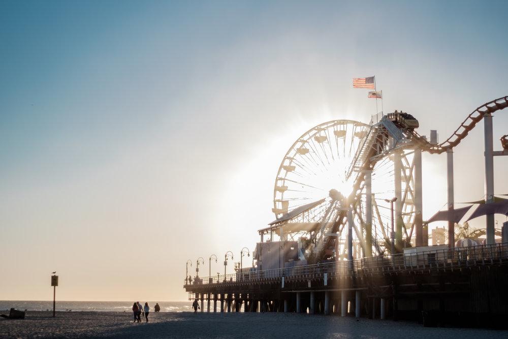Santa Monica Pier Fred Howarth 2015