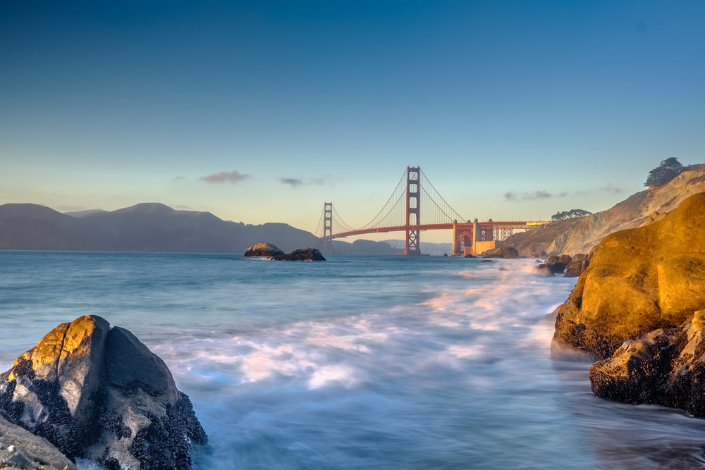 Golden Gate Bridge Baker's Beach