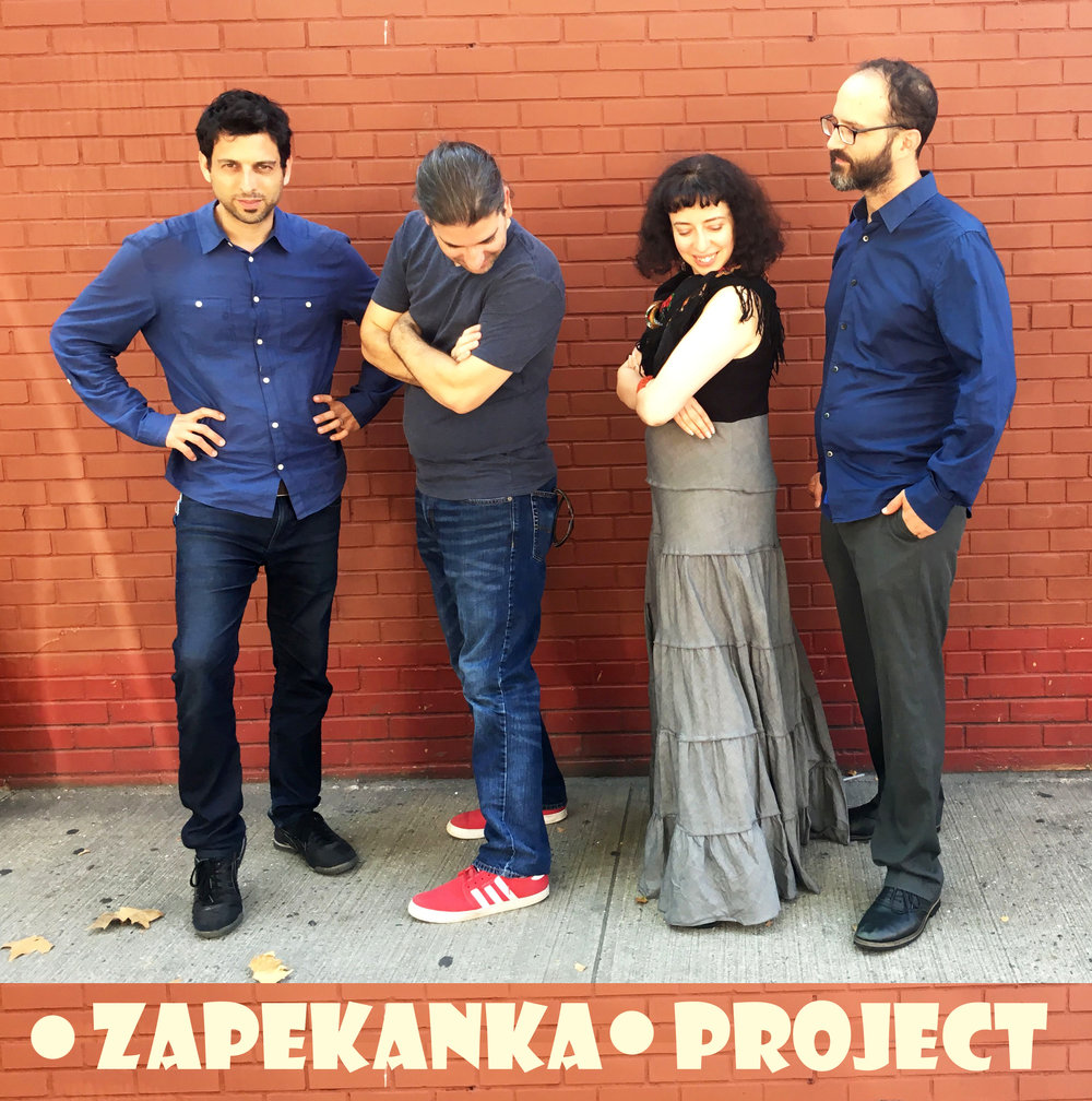 ZAPEKANKA  - Israeli-Ukranian band which plays Jewish music in Roma-Klezmer style.