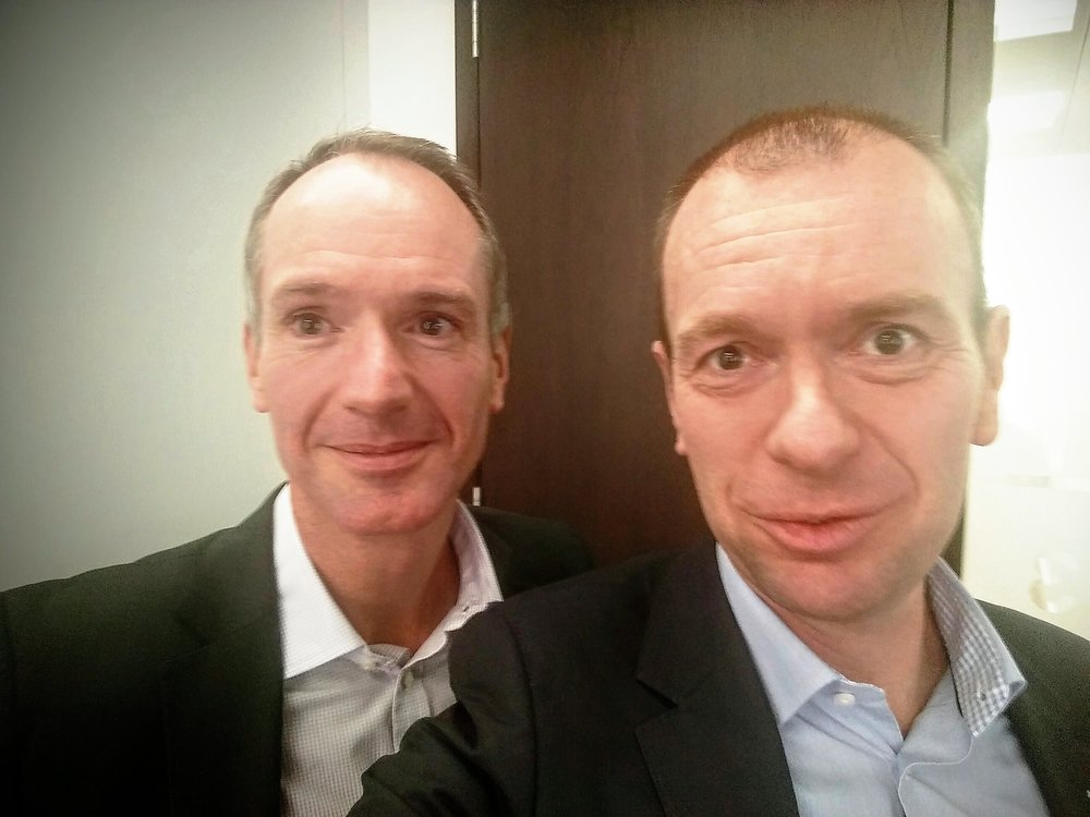 Meeting Loic Cadiou en Martijn Brans - september 2015 - H2O kantoor Londen