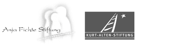 Mit freundlicher Unterstützung durch die Anja Fichte Stiftung und die Kurt-Alten-Stiftung.