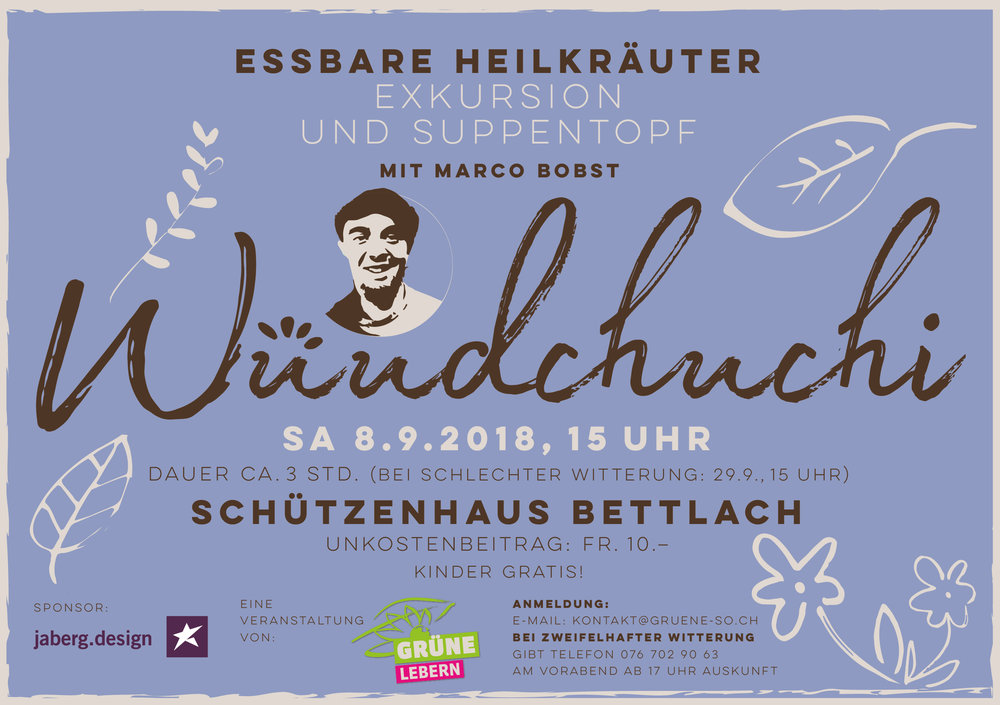 Wüudchuchi-Exkursion Bettlach 2018