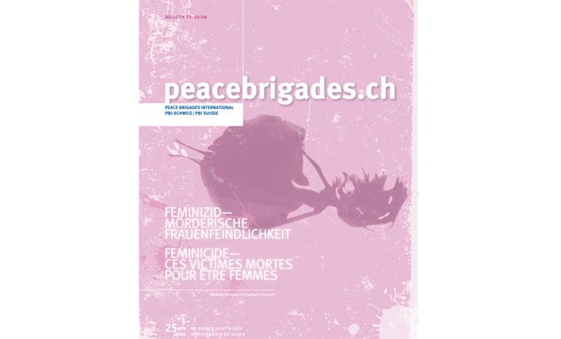 Visual Feminizid für PBI Schweiz