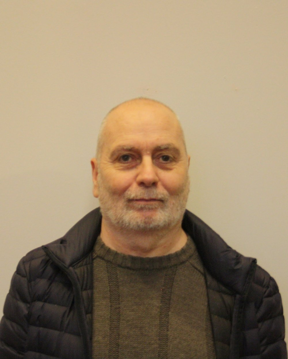 Derek Mounsey -Church Warden .  Having previously worked in retail management, he now enjoys retirement with his wife Rita, his two daughters, and his three grandsons. His hobbies include reading, listening to music, and collecting model trucks.