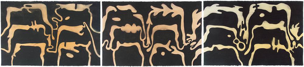 TRIPTYYKKI 2005 AKVARELLI 65 X 303