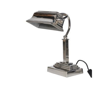 Banker Lamp - H37 x W25 x D25cmRRP €140Available to view in our showroom