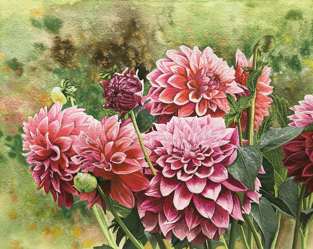 "Gouache Painting 8""x10"""