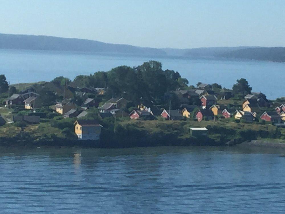 Einfahrt Oslo
