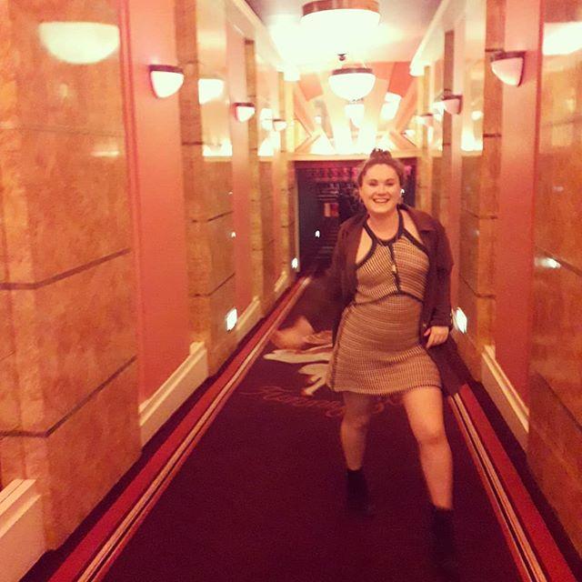 Dancing down the corridor of dreams.