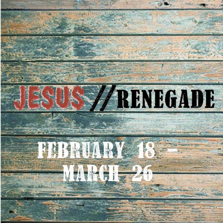 Jesus//Renegade -