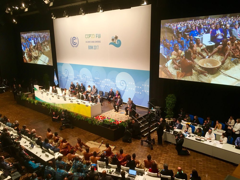 United Nations Framework Convention on Climate Change (UNFCCC )COP 23 Bonn, Germany Dec 2017
