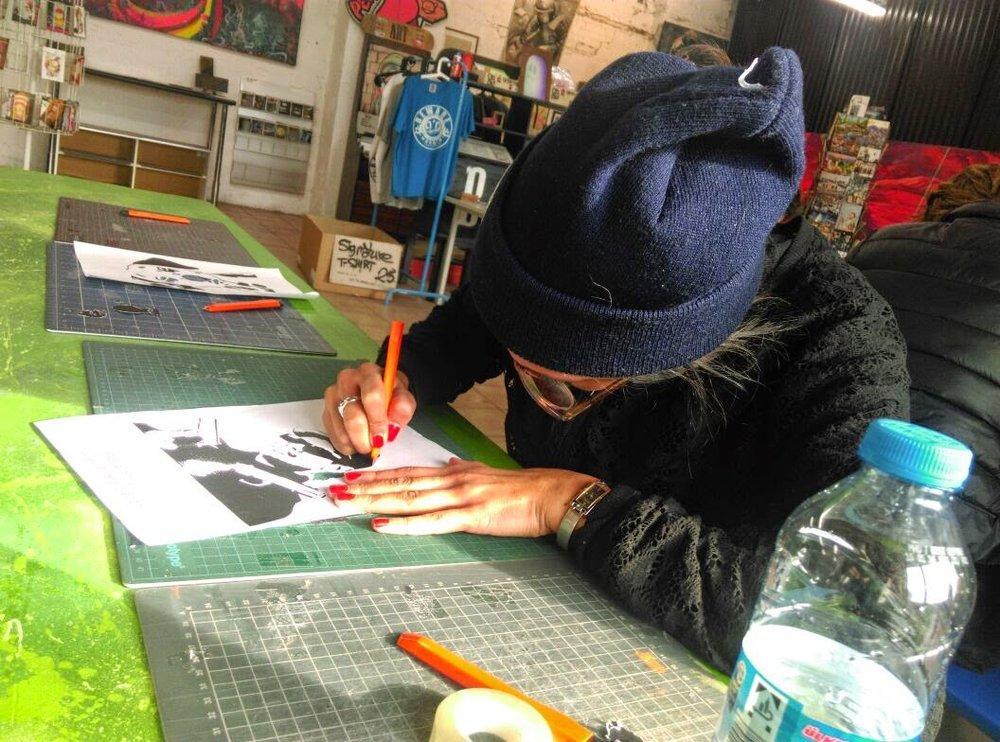 Berlin Street Art Tour and Stencil Workshop