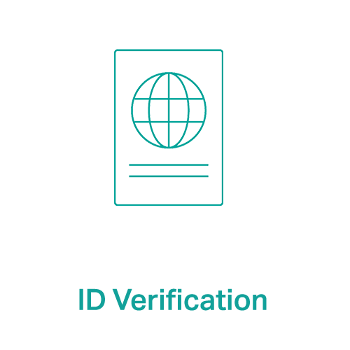 We can verify identity documents through our document experts
