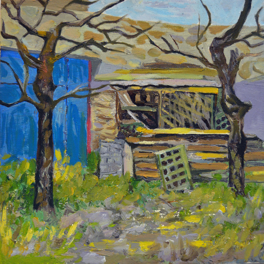 2012   COUNTRYSIDE 2   Oil painting Canvas