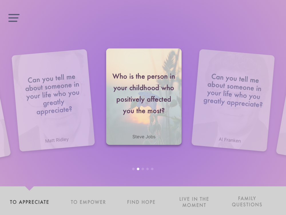2nd Version - Question Card