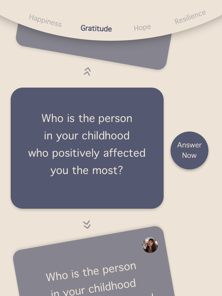 3rd Version - Question Card