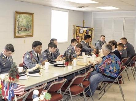 Dadeville Kiwanis Club celebrates Lyman Ward cadets  2018-12-06